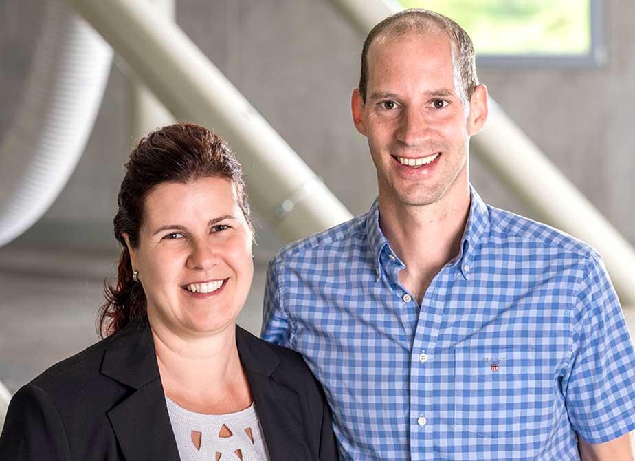 Geschäftsleitung Cornelia und Martin Willimann