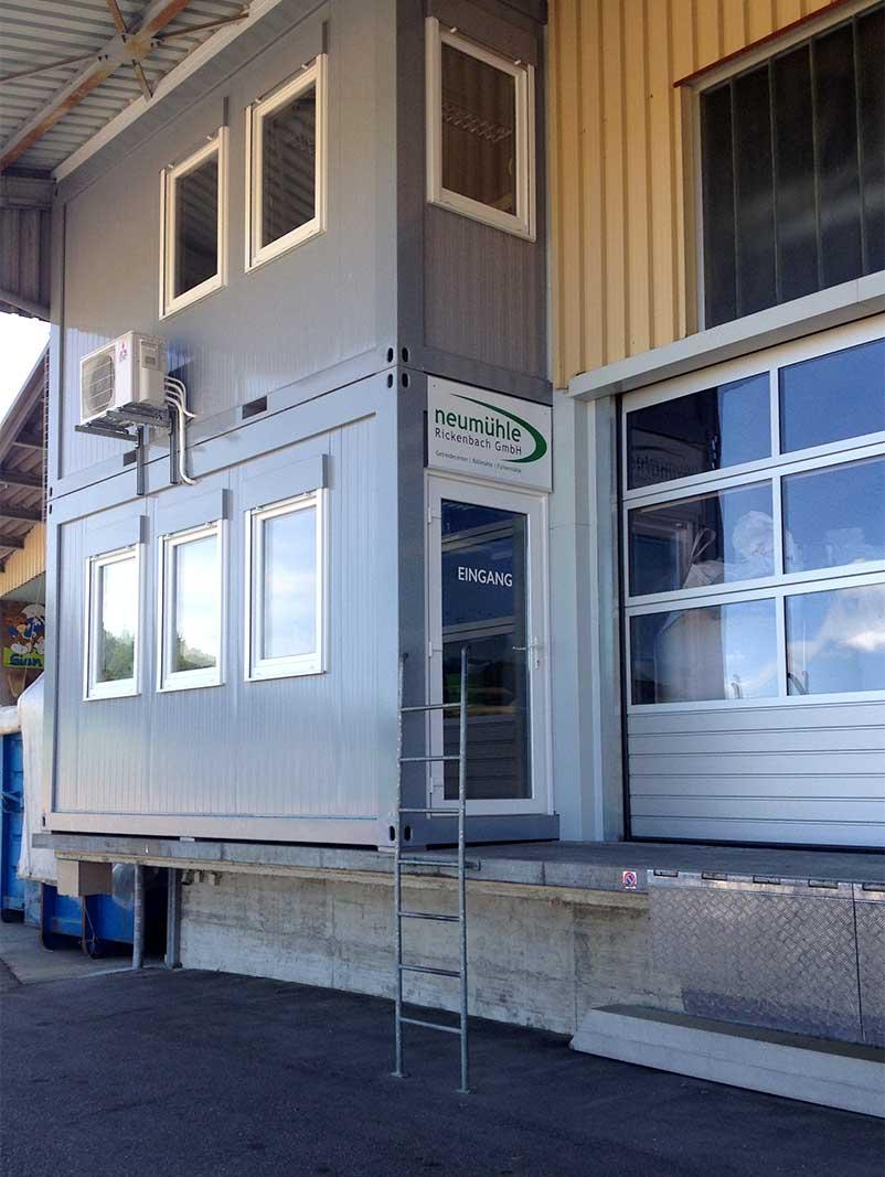 Neubau Containerbüro