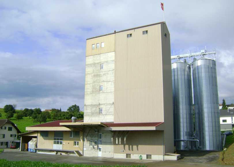 Neubau Silozellen 1988